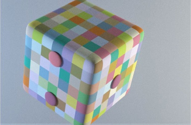 Color constancy cube