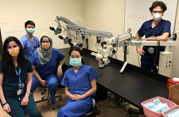 Ophthalmology residents
