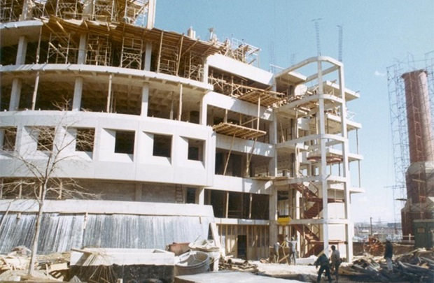 Scheie Eye Institute construction