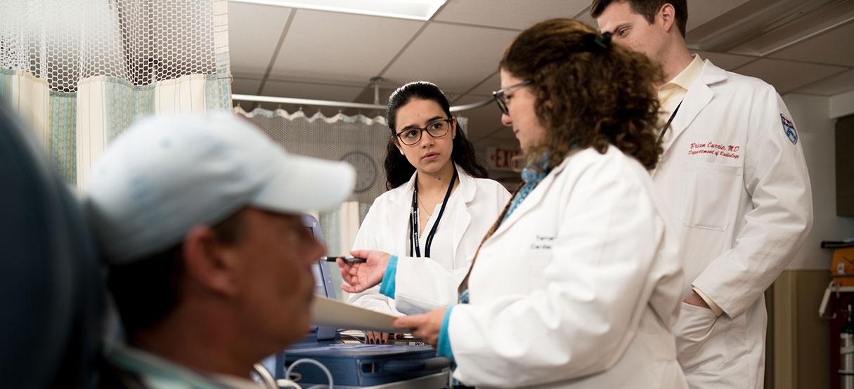 Penn Radiology Residents in Cardiothoracic Pacemaker Consult