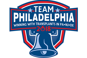 Transplant Games of America - Team Philadelphia logo | Copyright: Gift of Life Donor Program