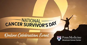 National Cancer Survivor's Day Online Celebration 2020