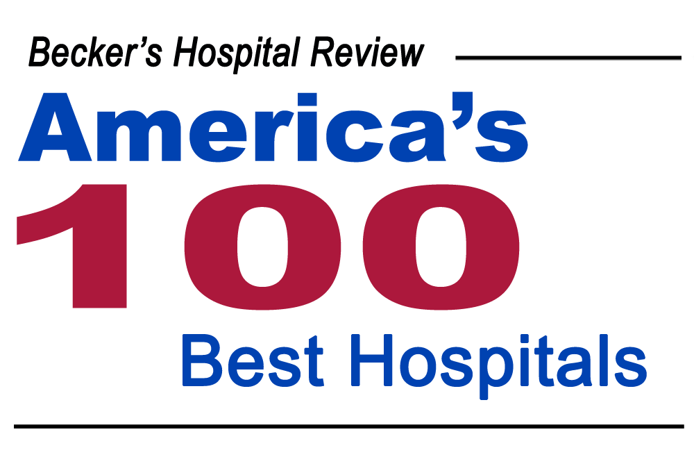 Becker's Hospital Review - 100 Best Hospitals Award