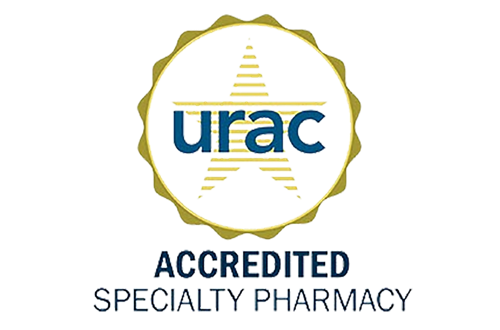 URAC Accredited Specialty Pharmacy Seal