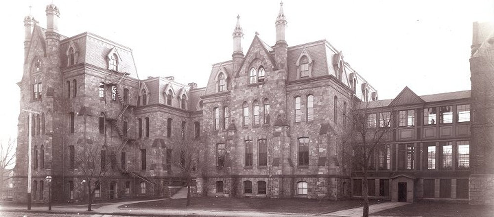 The Hospital of the University of Pennsylvania in 1874
