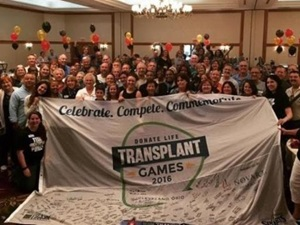 Bill Soloway at the Transplant Games