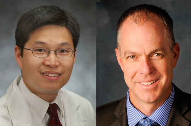 Headshots of Drs. William Szeto and Jacob Gutsche of Penn Medicine