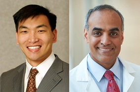 Headshots of Drs. Lee and Singhal of Penn Medicine