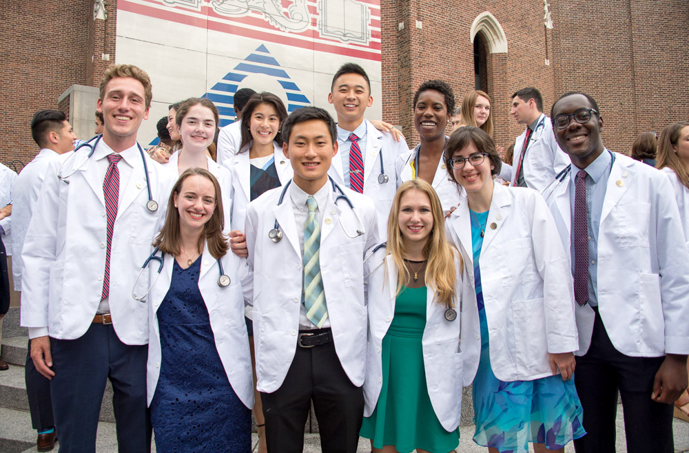 Students of the Perelman School of Medicine