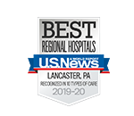 US News Best Regional Hospitals Award Logo