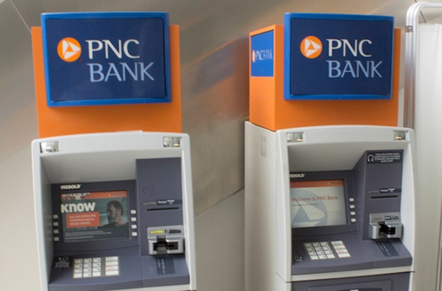 Photo of the ATMs at Perelman Center