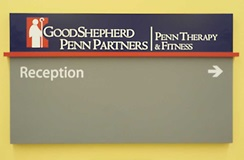 Penn Medicine University City physical therapy sign