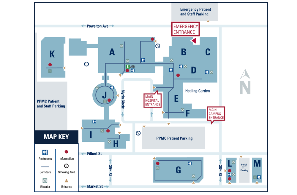 Floor Plans of Penn Presbyterian Medical Center – Penn Medicine