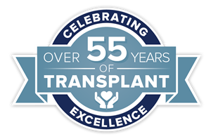 Transplant 55 year badge