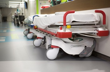 image of a hospital stretcher