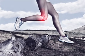 Joint Pain Woman Running
