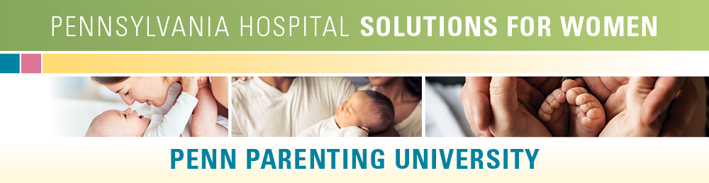 Childbirth and parenting classes banner PAH