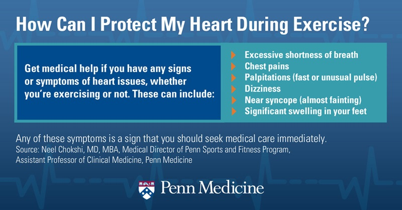 Protect your heart during exercise