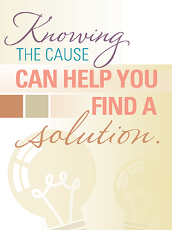 Knowing the cause graphic