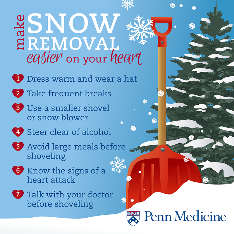 Snow removal infographic
