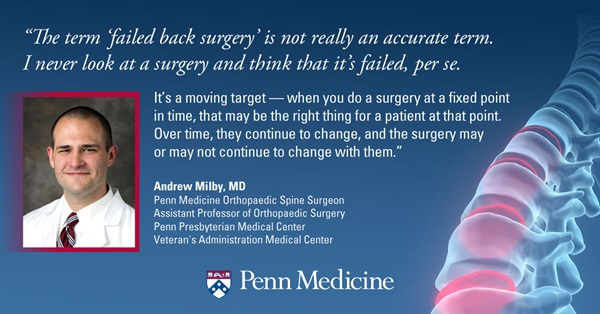 Failed Back Surgery Syndrome: When The Pain Comes Back After