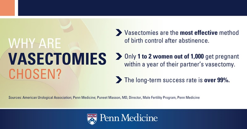 Facts About Vasectomies