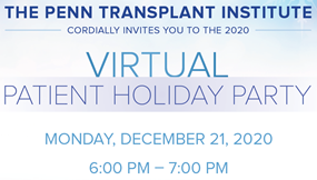 Transplant Holiday Party 2020