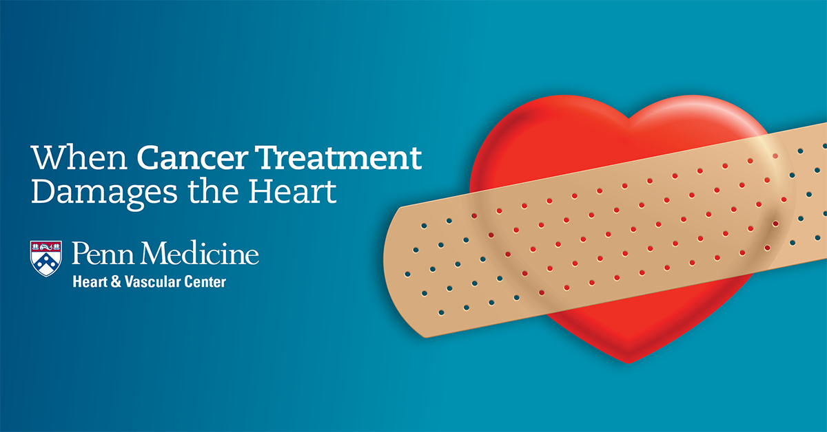 When Cancer Treatment Damages the Heart graphic