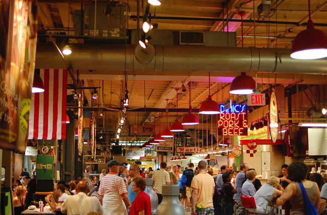 Reading Terminal Market in Philadelphia