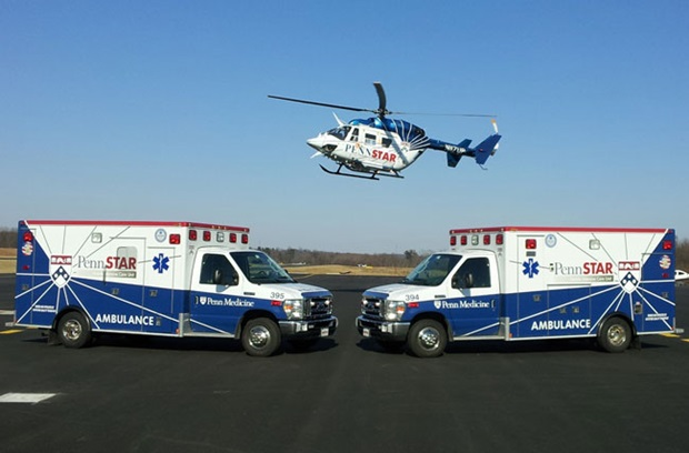 Penn Medicine emergency vehicles