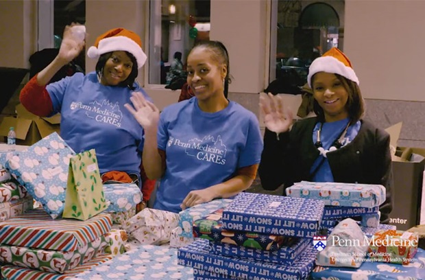 Video still of Penn Medicine CAREs During The Holidays 2016