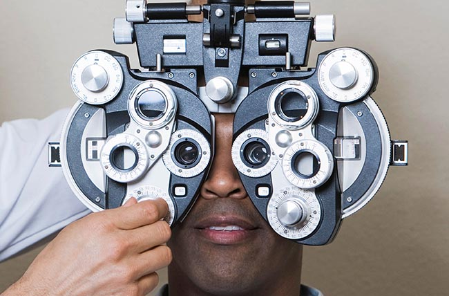 diabetic eye exam in Toronto.