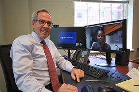 Lawrence Wechsler, MD, joined Penn Medicine in early March, just in time to witness historical changes to telemedicine.