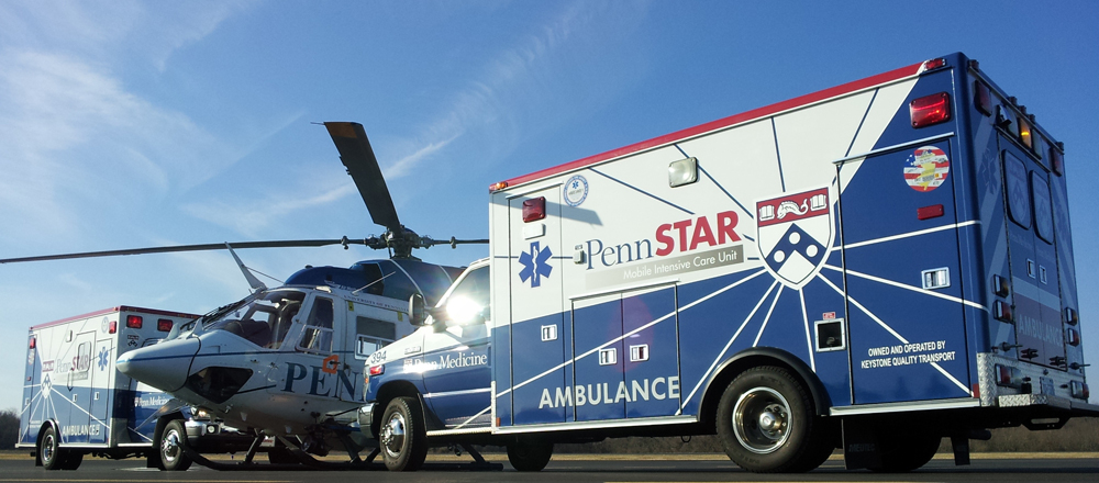 PennSTAR emergency vehicles