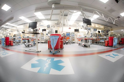 image of part of a hospital with equipment